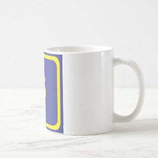 number six coffee mug