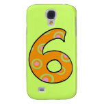 Number six samsung galaxy s4 cover