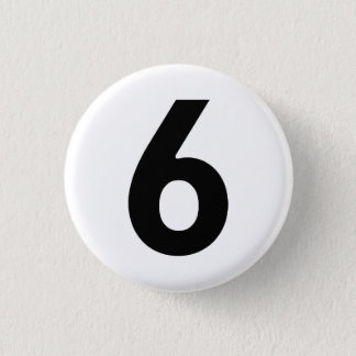 Number Six - The Prisoner Button