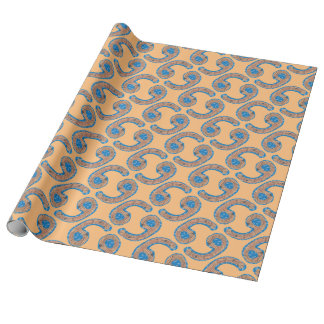 Number Six Wrapping Paper