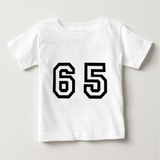 Number Sixty Five Baby T-Shirt