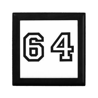 Number Sixty Four Gift Box