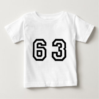 Number Sixty Three Baby T-Shirt