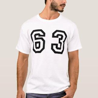 Number Sixty Three T-Shirt
