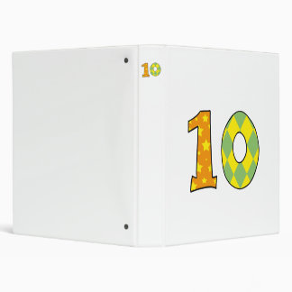 Number ten (10) binder