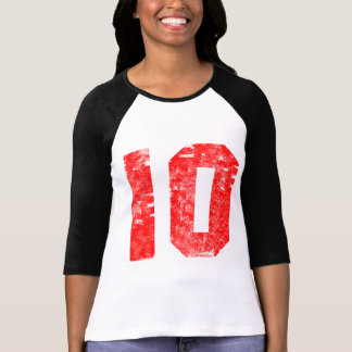 Number Ten 10th Birthday Gifts T Shirt