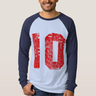 Number Ten 10th Birthday Gifts Tee Shirt