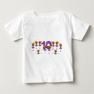 Number ten baby T-Shirt