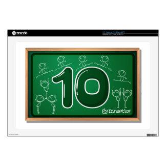 Number ten skins for laptops