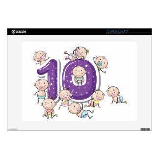 number ten laptop skins