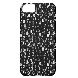 Number Themed iPhone 5 Case