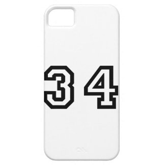 Number Thirty Four iPhone SE/5/5s Case