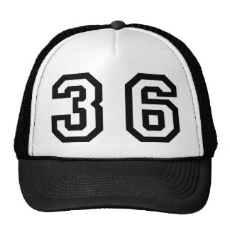 Number Thirty Six Trucker Hat