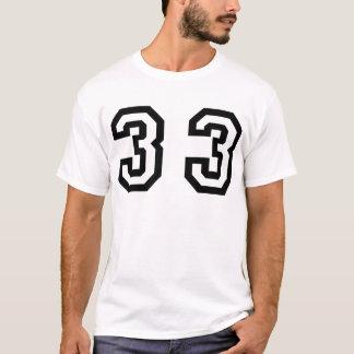 Number Thirty Three T-Shirt
