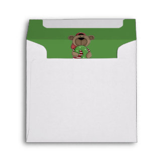Number Three Birthday Bear Envelope