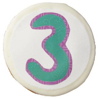 Number Three Cookies