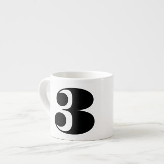 Number Three Espresso Mug