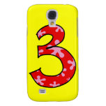 Number three samsung galaxy s4 cover