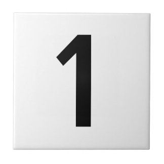 House number ceramic tiles zazzle for Ceramic tile numbers and letters
