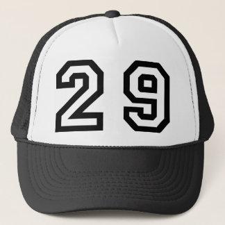Number Twenty Nine Trucker Hat