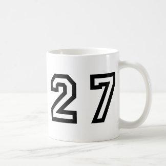 Number Twenty Seven Coffee Mug