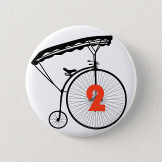 "Number Two button Badge - Number 2 ""The Prisoner"""