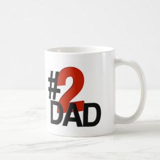 Number Two Dad Coffee Mug
