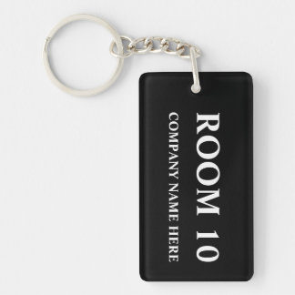 Numbered Hotel room keychains | Customizable