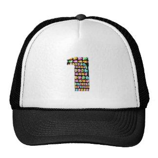 NumberONE  Decorative Artistic Trucker Hat