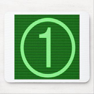 NumberONE Green Marathon Mouse Pad
