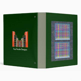 NumberONE :Happy Life Graphics - Sparkle Windows 3 Ring Binder