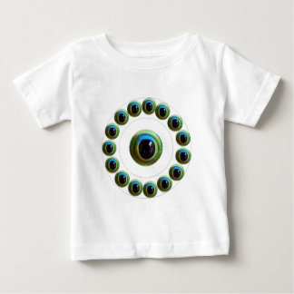NumberONE Jewel YinYang Flower Decorations Infant T-shirt