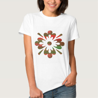 NumberONE Jewel YinYang Flower Decorations Tee Shirts