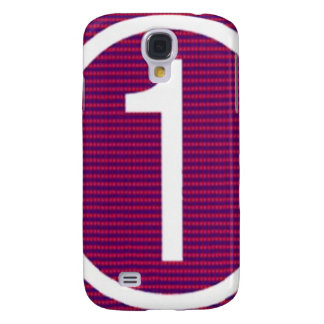 NumberONE Samsung Galaxy S4 Cover