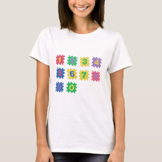 Numbers 0 to 9 T-Shirt