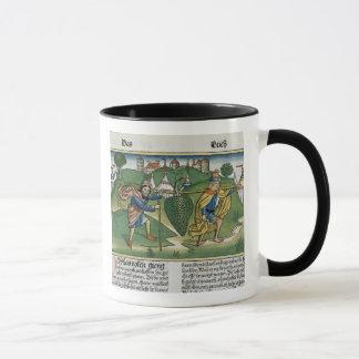 Numbers 13 23 The Grapes of Eschol, from the 'Nure Mug