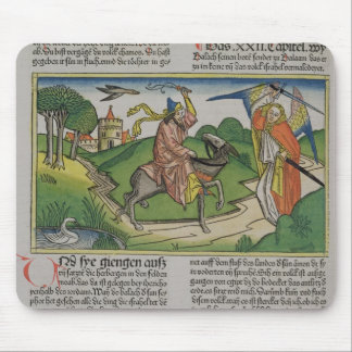 Numbers 22 20-35 Balaam's talking ass, from the 'N Mouse Pad