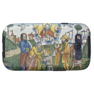 Numbers 27 18-23 Moses lays his hand upon Joshua Galaxy S3 Case