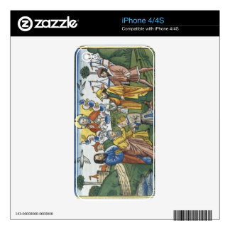 Numbers 27 18-23 Moses lays his hand upon Joshua, iPhone 4S Decal