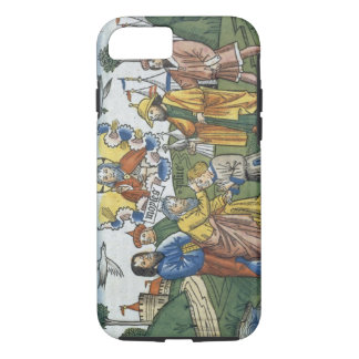 Numbers 27 18-23 Moses lays his hand upon Joshua, iPhone 7 Case