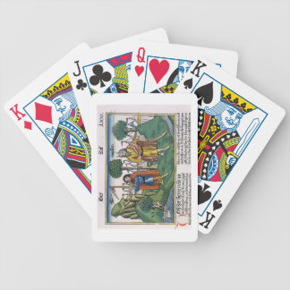 Numbers 2 The camp assignments of the Israelites, Bicycle Playing Cards