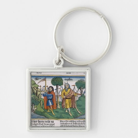Numbers 2 The camp assignments of the Israelites, Keychain