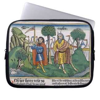 Numbers 2 The camp assignments of the Israelites, Laptop Sleeve