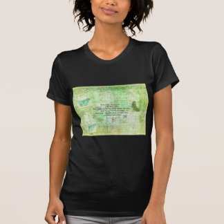 Numbers 6:24-26 Bible Verse Blessing with art T-Shirt