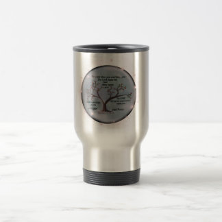Numbers 6:24-26 Lord Bless You and Keep You Peace Travel Mug