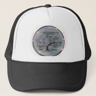 Numbers 6:24-26 Lord Bless You and Keep You Peace Trucker Hat