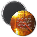 NUMBERS 6:24 BIBLE VERSE - MAY THE LORD BLESS YOU 2 INCH ROUND MAGNET