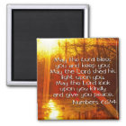NUMBERS 6:24 BIBLE VERSE - MAY THE LORD BLESS YOU MAGNET