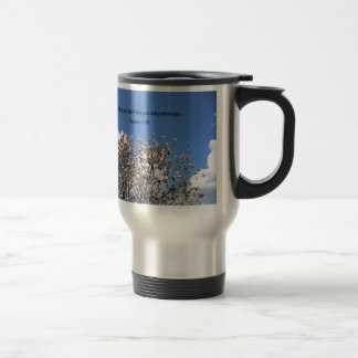 Numbers 6:24 May the Lord bless you.... 15 Oz Stainless Steel Travel Mug