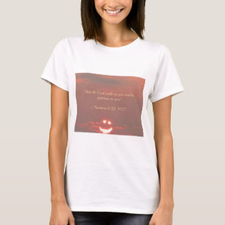 Numbers 6:25 Smiley Face T-Shirt